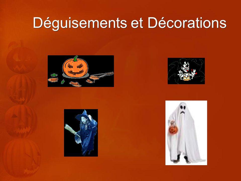 Déguisements et Décorations