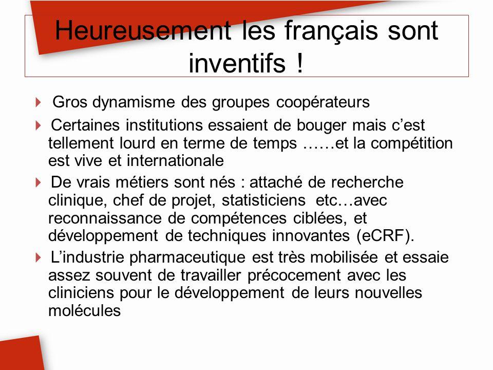 Heureusement les français sont inventifs !