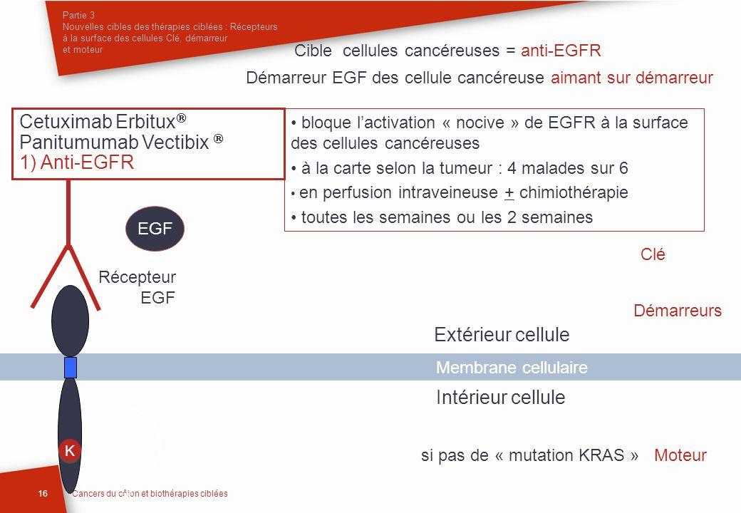 Panitumumab Vectibix  1) Anti-EGFR