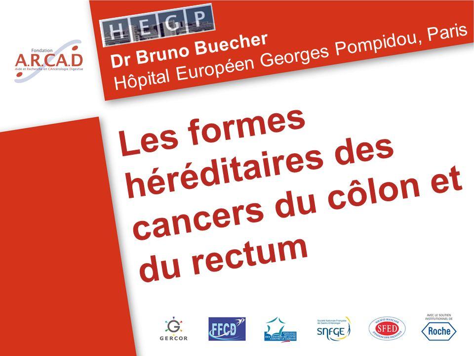 Les formes héréditaires des cancers du côlon et