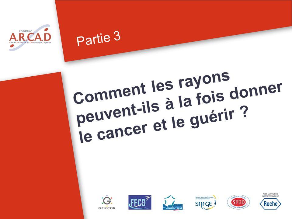 Partie 3 Comment les rayons peuvent-ils à la fois donner le cancer et le guérir