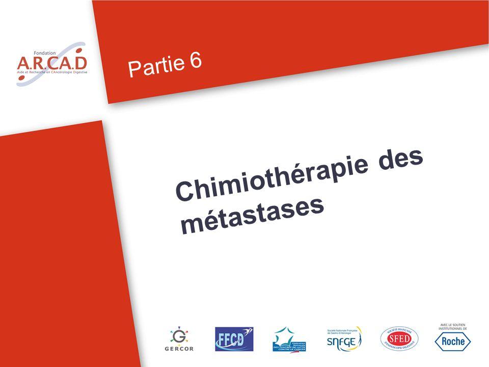 Chimiothérapie des métastases