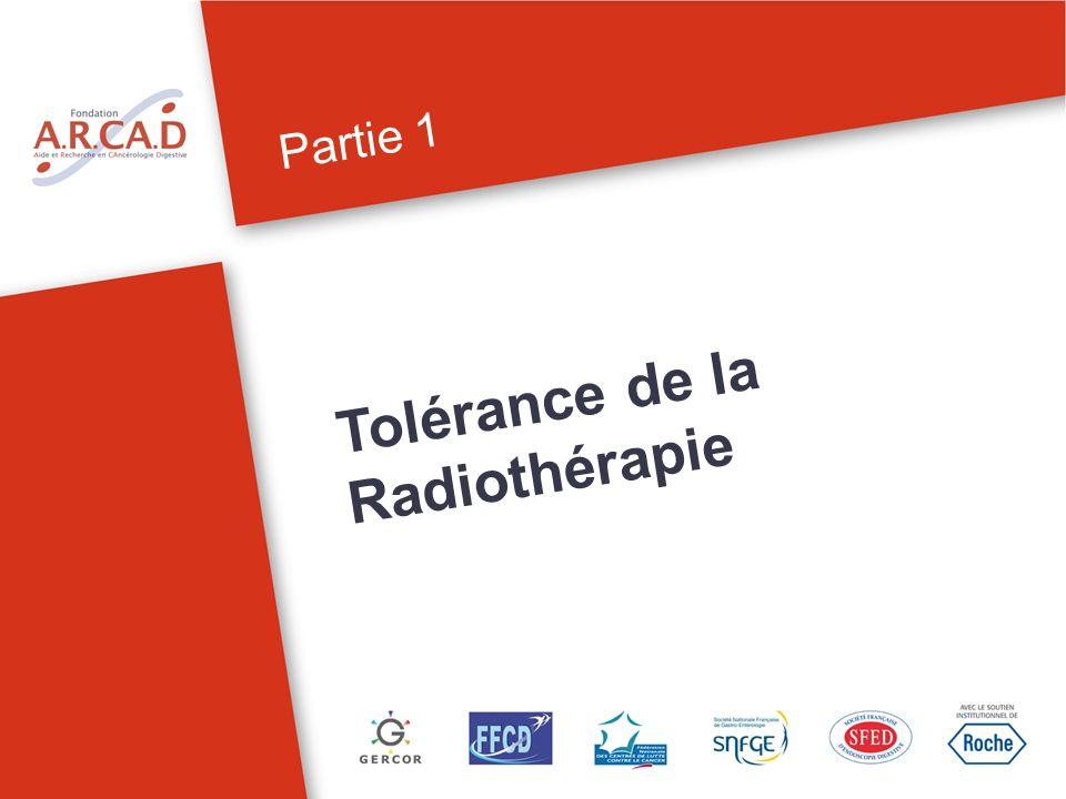 Tolérance de la Radiothérapie
