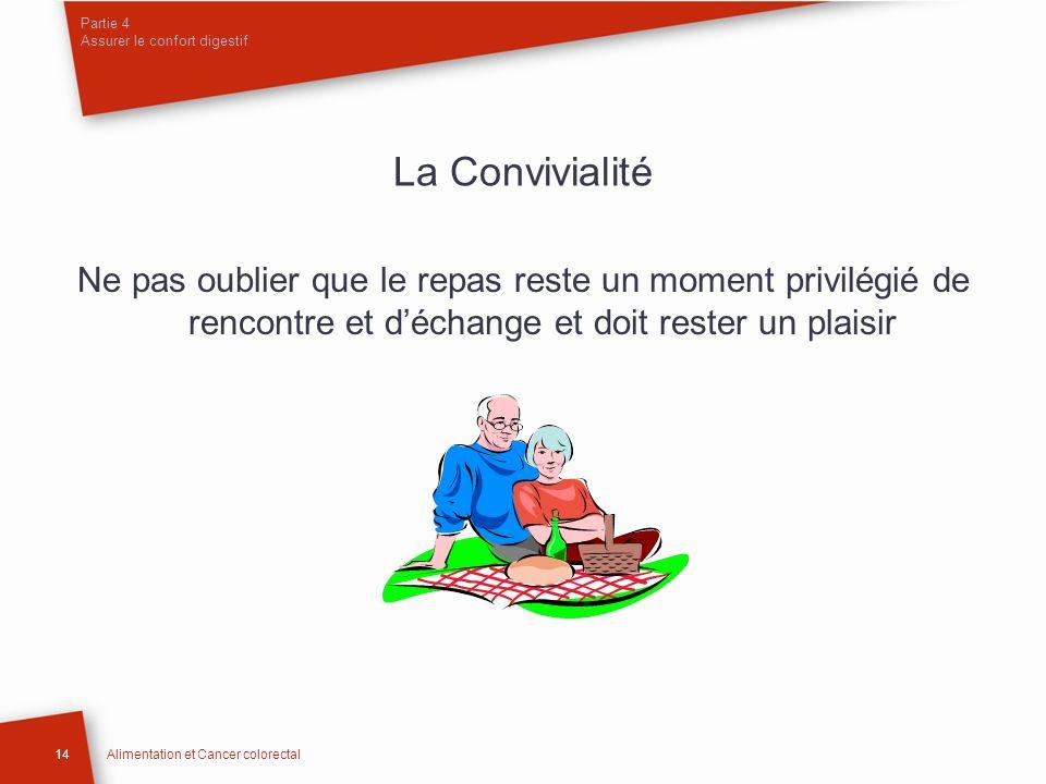 Partie 4 Assurer le confort digestif
