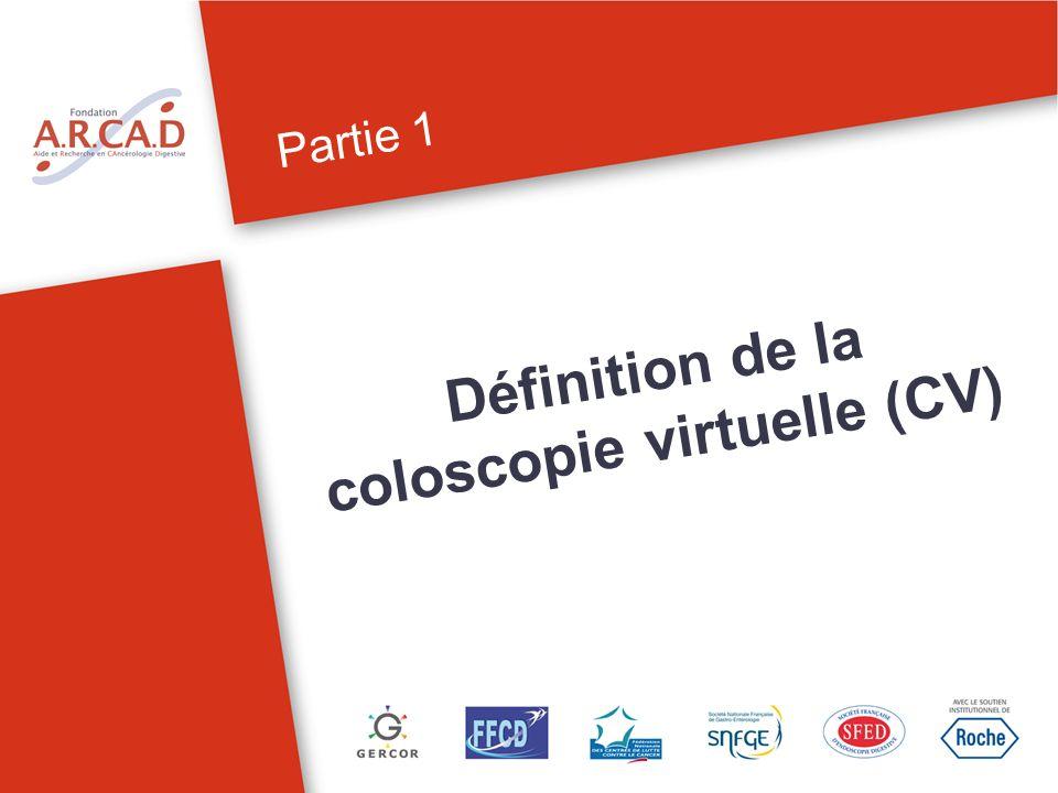 Définition de la coloscopie virtuelle (CV)