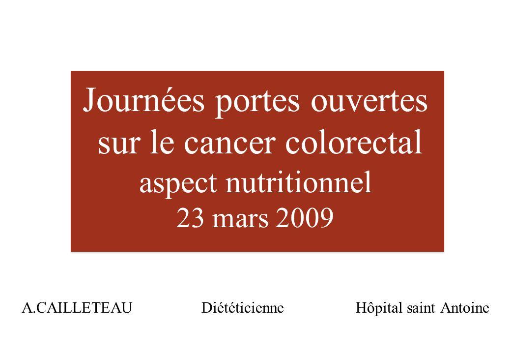 A.CAILLETEAU Diététicienne Hôpital saint Antoine