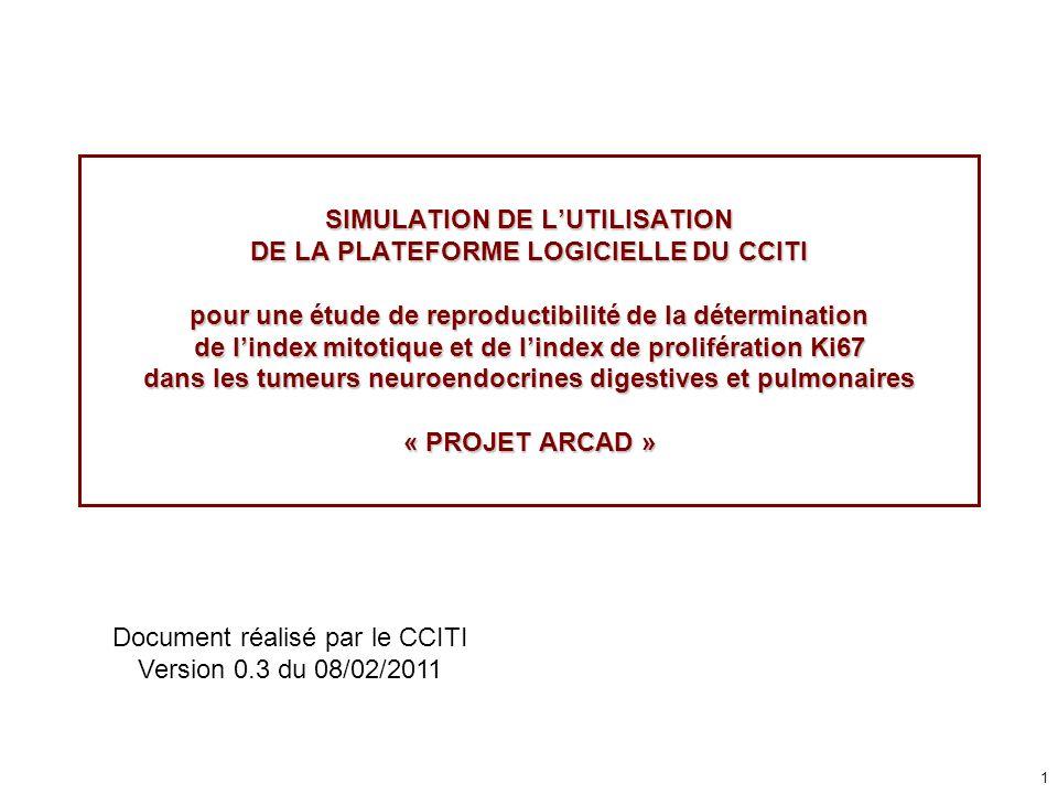 Document réalisé par le CCITI