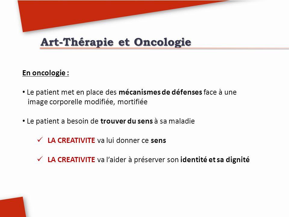 Art-Thérapie et Oncologie