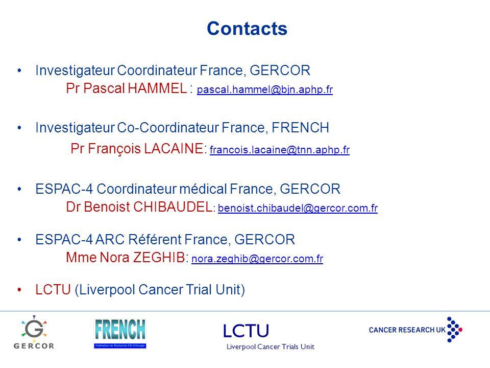 Contacts Pr François LACAINE: francois.lacaine@tnn.aphp.fr