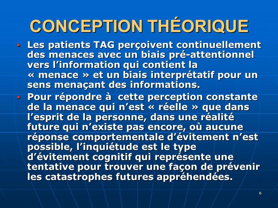 CONCEPTION THÉORIQUE
