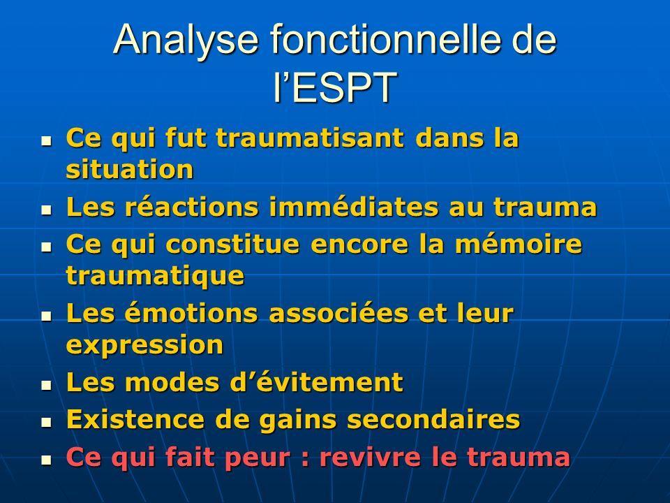 Analyse fonctionnelle de l'ESPT