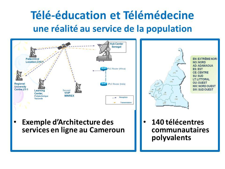 Télé-éducation et Télémédecine une réalité au service de la population
