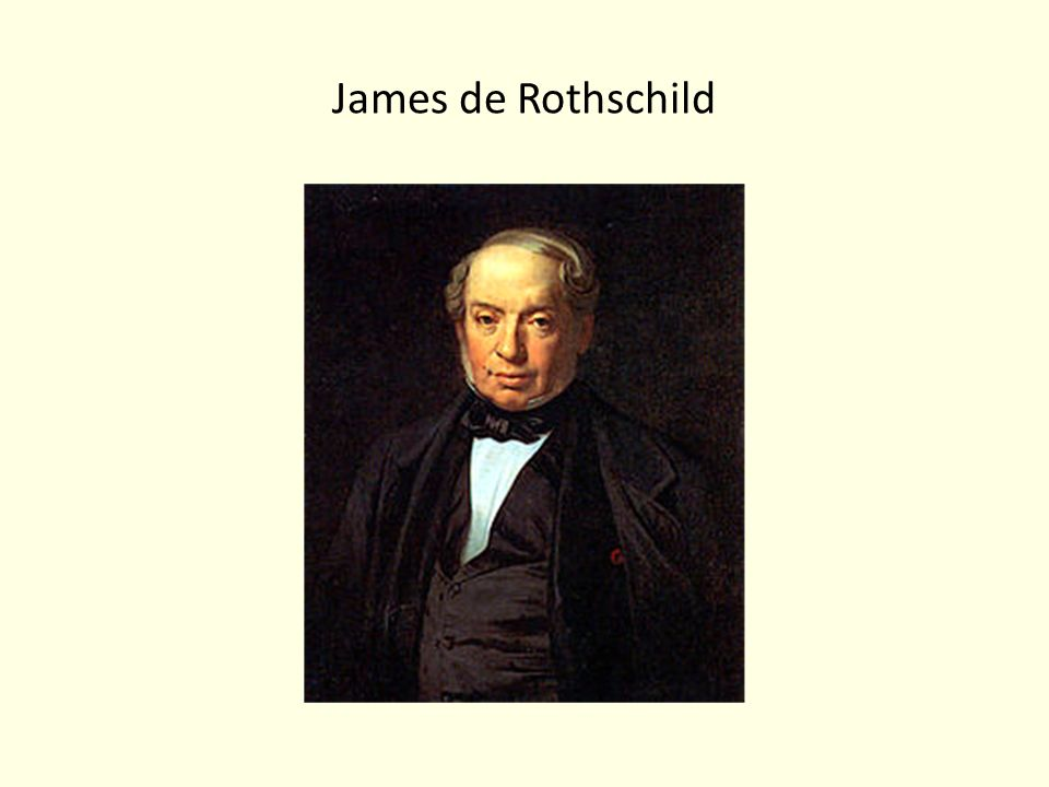 James de Rothschild