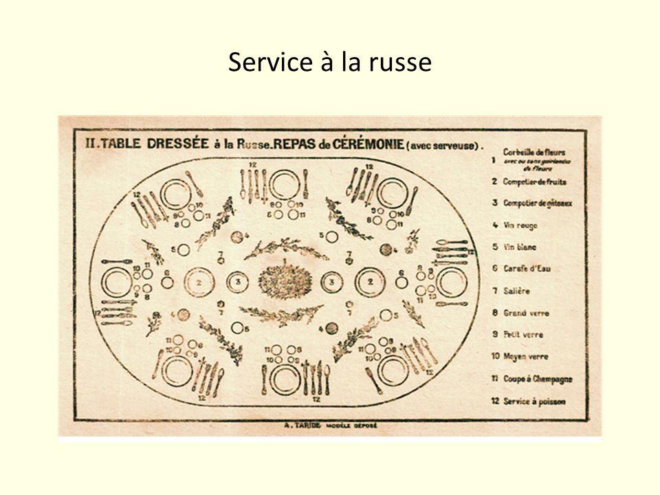 Service à la russe