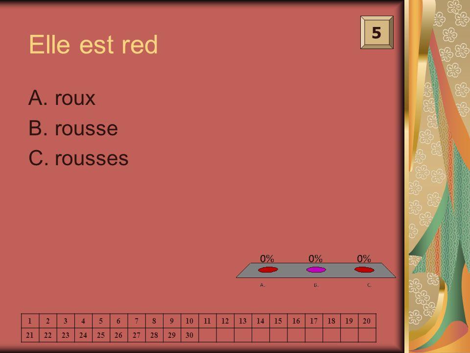 Elle est red roux rousse rousses 5 1 2 3 4 5 6 7 8 9 10 11 12 13 14 15