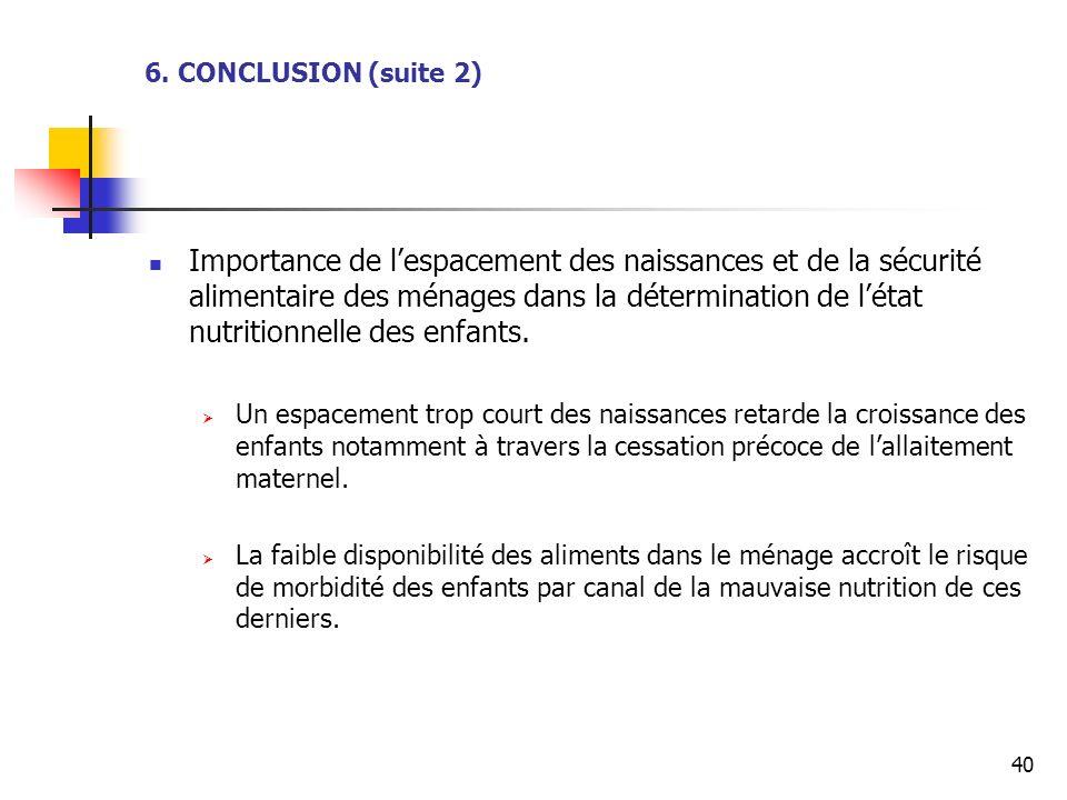 6. CONCLUSION (suite 2)