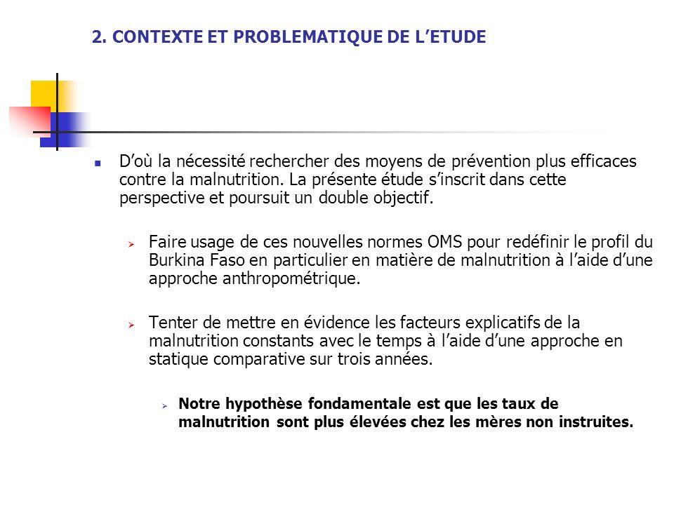 2. CONTEXTE ET PROBLEMATIQUE DE L'ETUDE