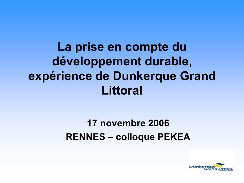 17 novembre 2006 RENNES – colloque PEKEA