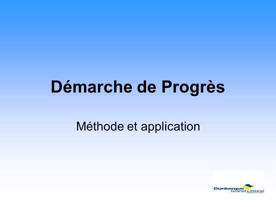 Méthode et application