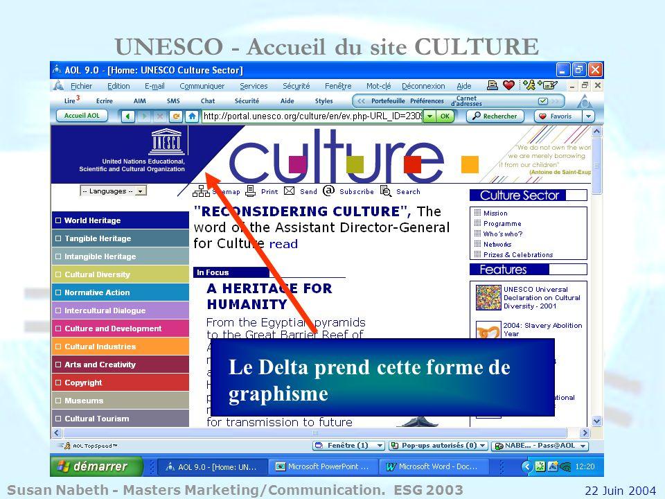 UNESCO - Accueil du site CULTURE