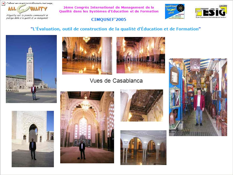 Vues de Casablanca