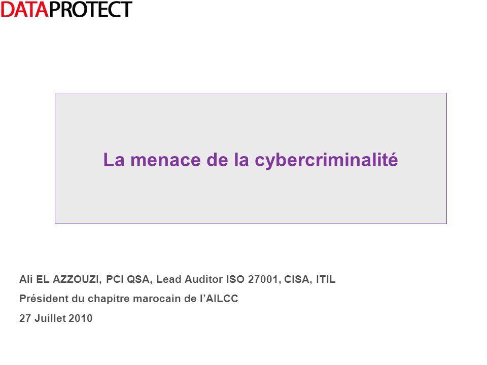 La menace de la cybercriminalité
