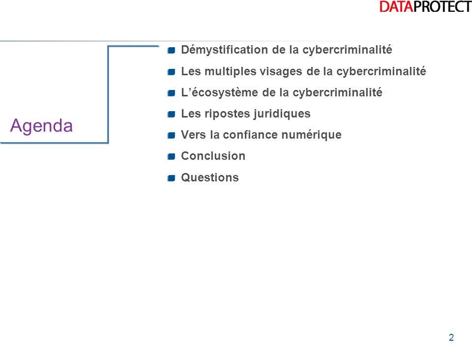 Agenda Démystification de la cybercriminalité