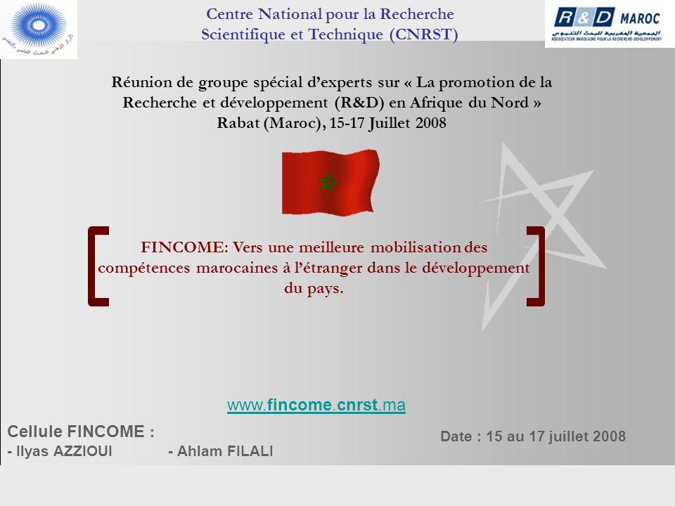 Centre National pour la Recherche Scientifique et Technique (CNRST)