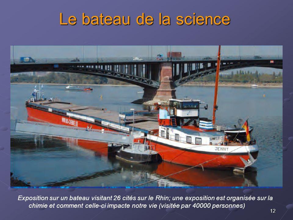 Le bateau de la science