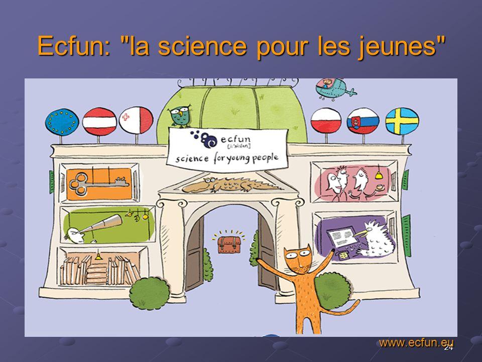 Ecfun: la science pour les jeunes