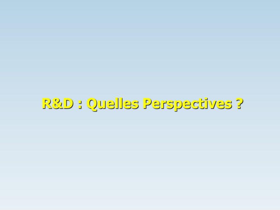 R&D : Quelles Perspectives