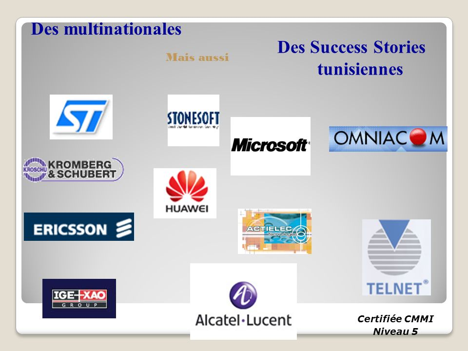 Des Success Stories tunisiennes