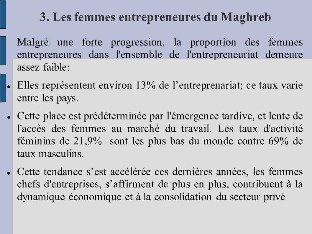 3. Les femmes entrepreneures du Maghreb