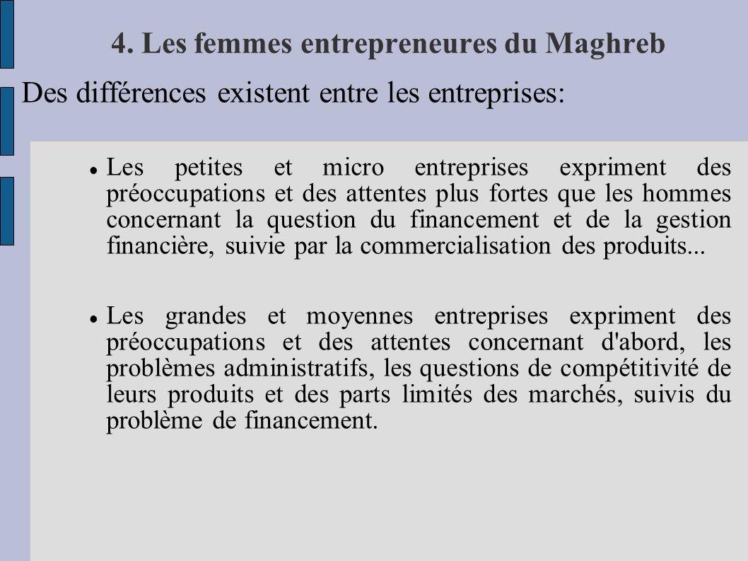 4. Les femmes entrepreneures du Maghreb