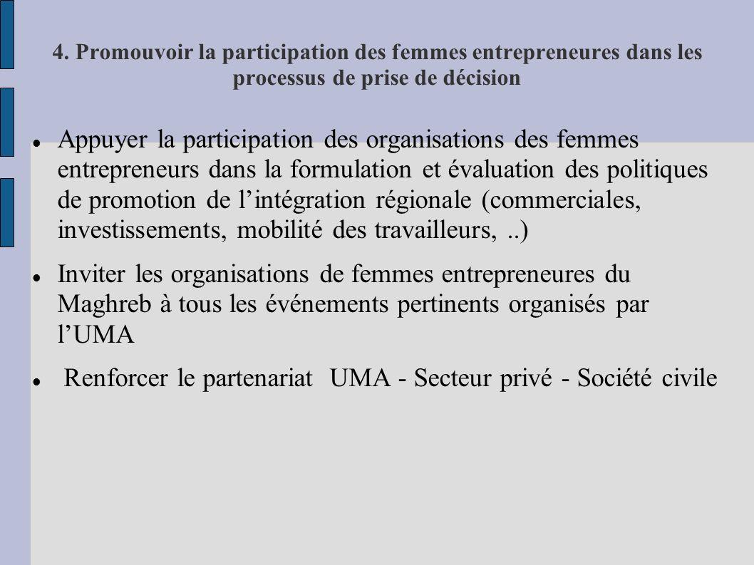 Renforcer le partenariat UMA - Secteur privé - Société civile