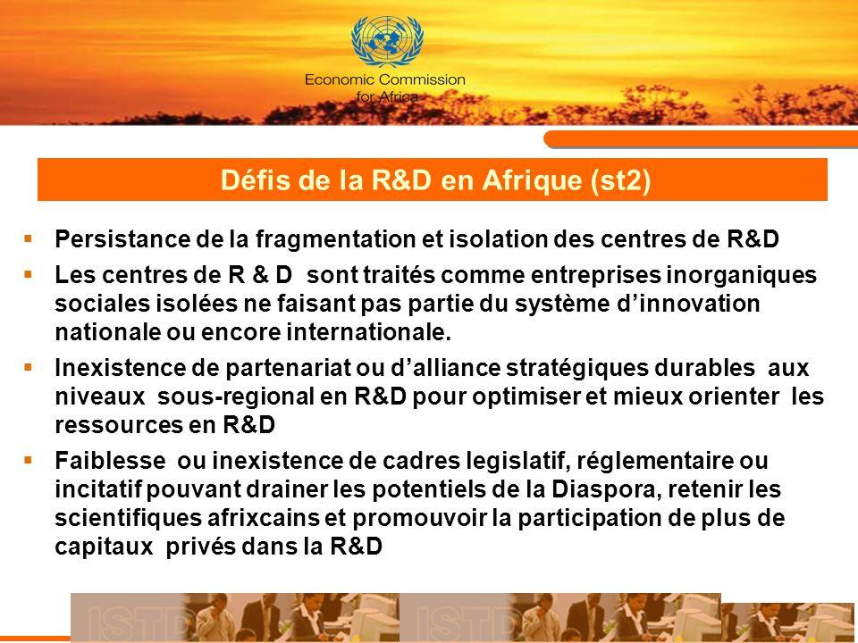 Défis de la R&D en Afrique (st2)
