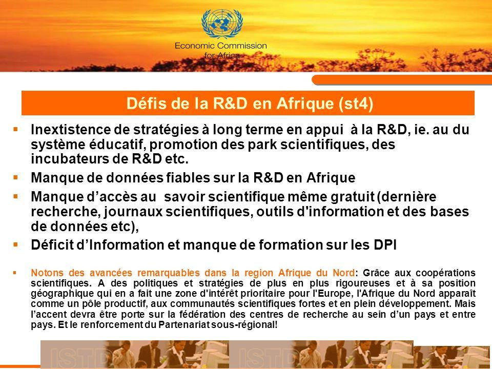 Défis de la R&D en Afrique (st4)