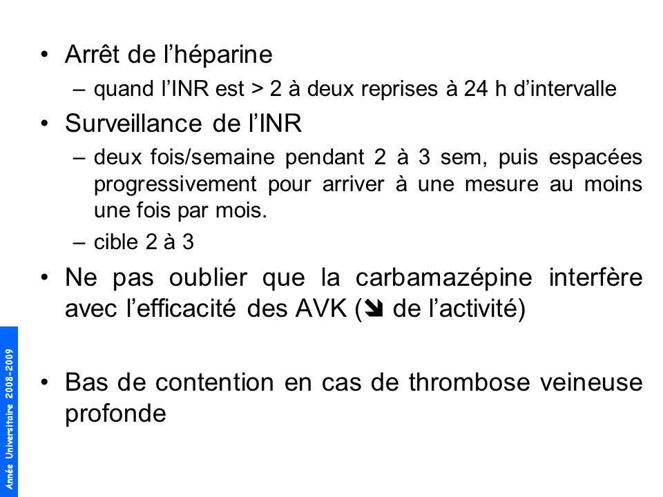 Bas de contention en cas de thrombose veineuse profonde