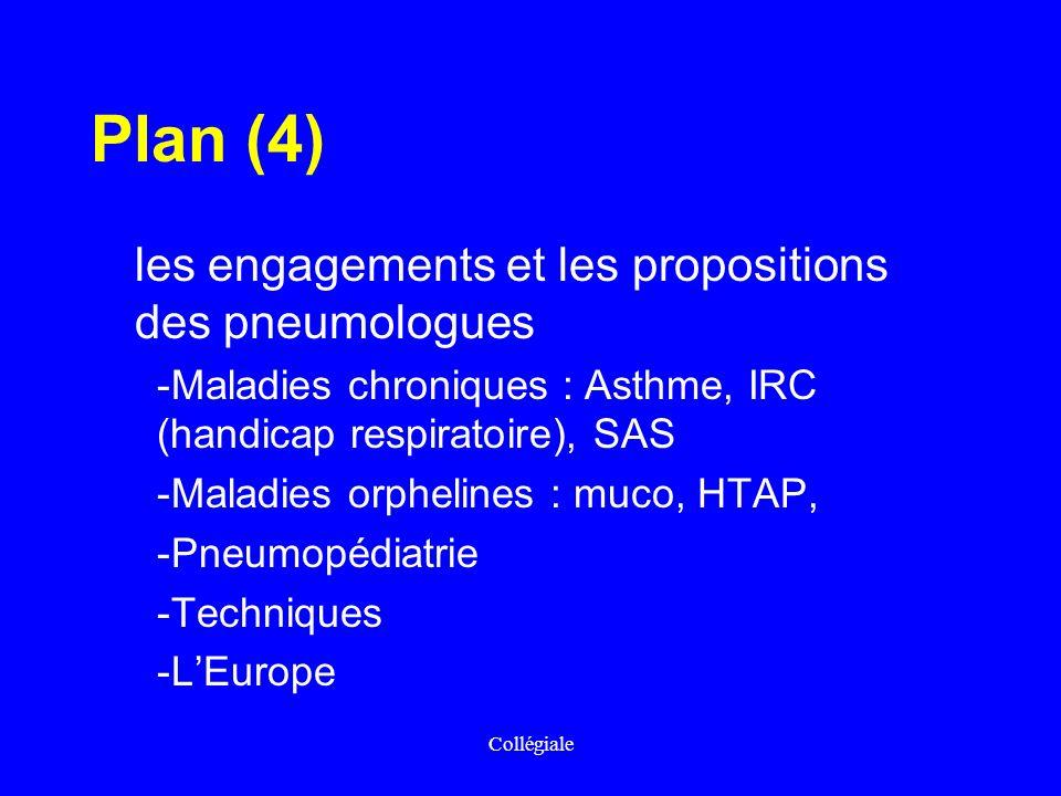 Plan (4) les engagements et les propositions des pneumologues
