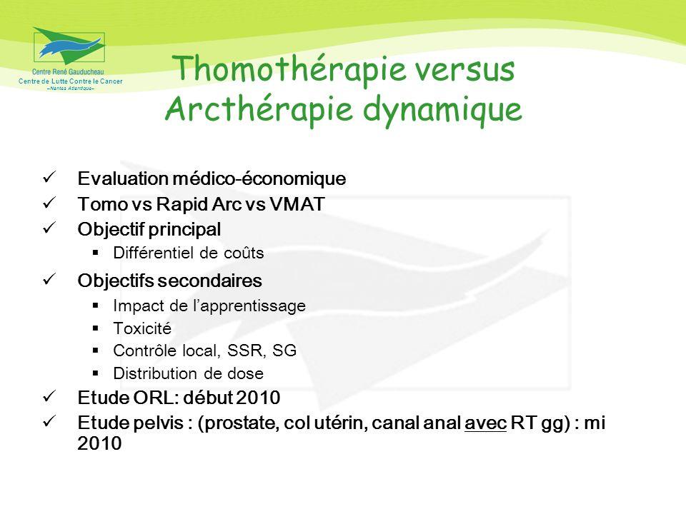 Thomothérapie versus Arcthérapie dynamique