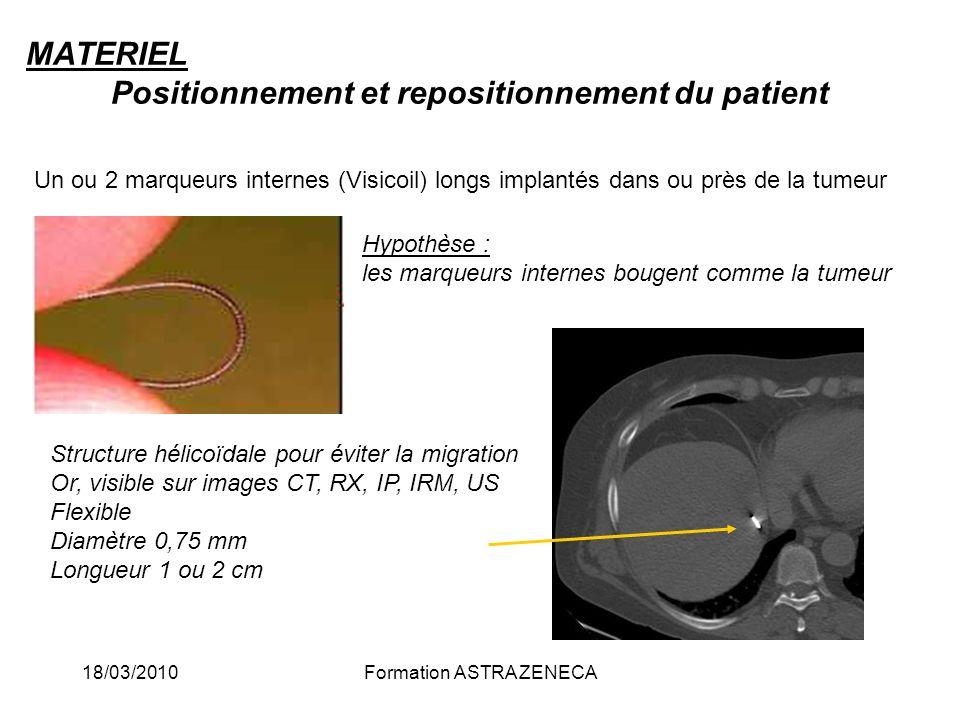 MATERIEL Positionnement et repositionnement du patient