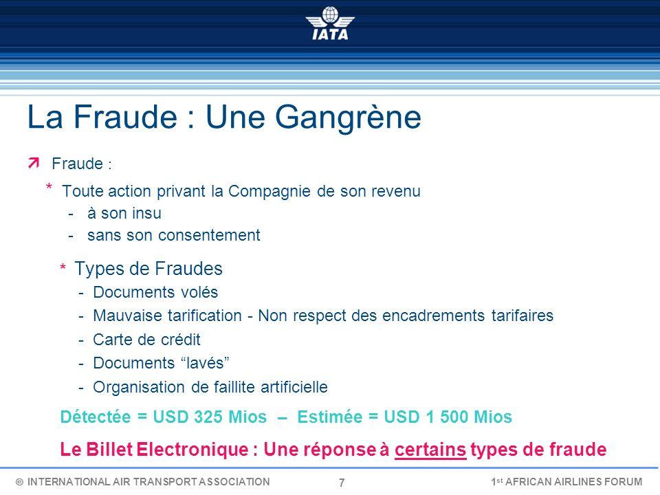 La Fraude : Une Gangrène