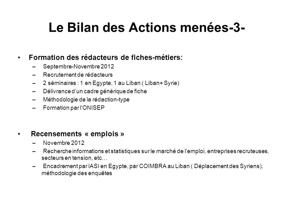 Le Bilan des Actions menées-3-