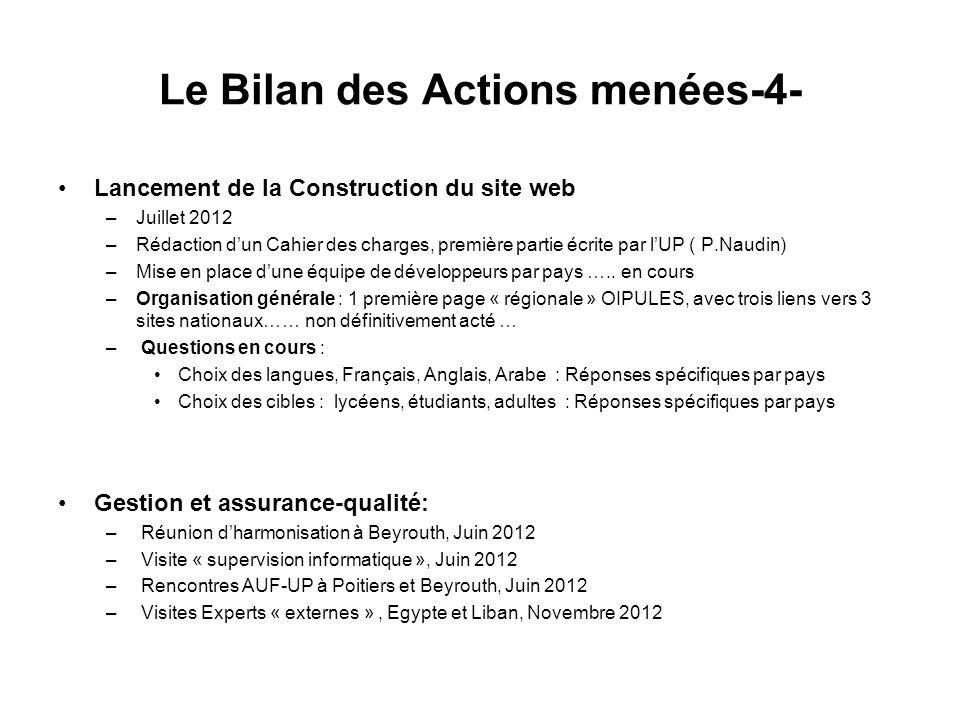 Le Bilan des Actions menées-4-