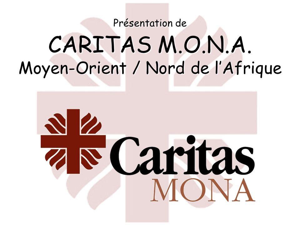 Présentation de CARITAS M.O.N.A. Moyen-Orient / Nord de l'Afrique