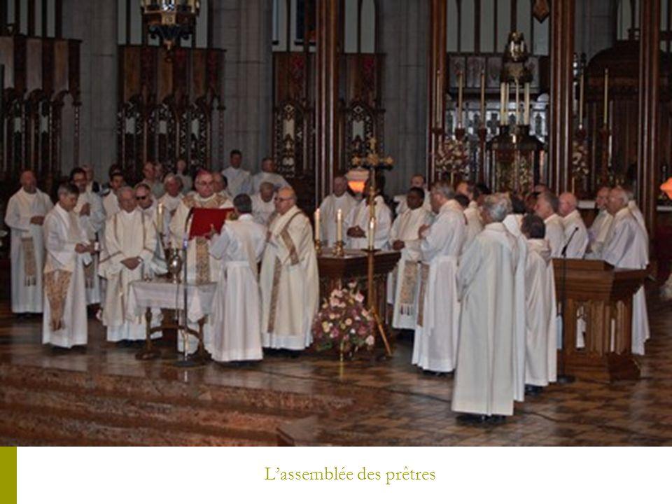 L'assemblée des prêtres