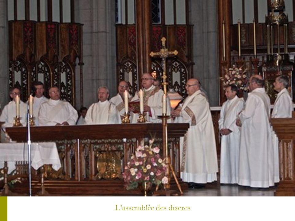 L'assemblée des diacres