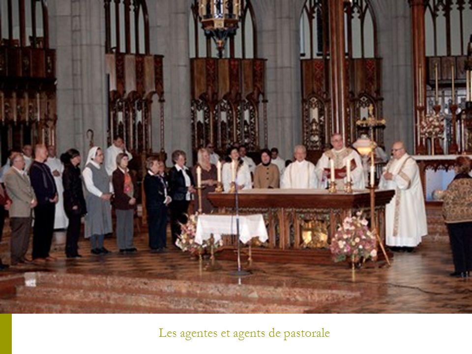 Les agentes et agents de pastorale