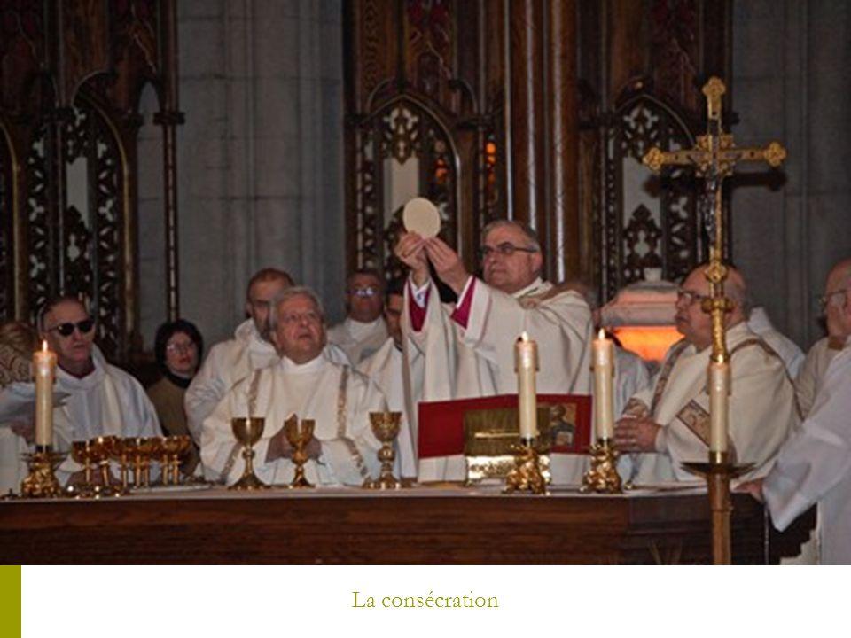 La consécration