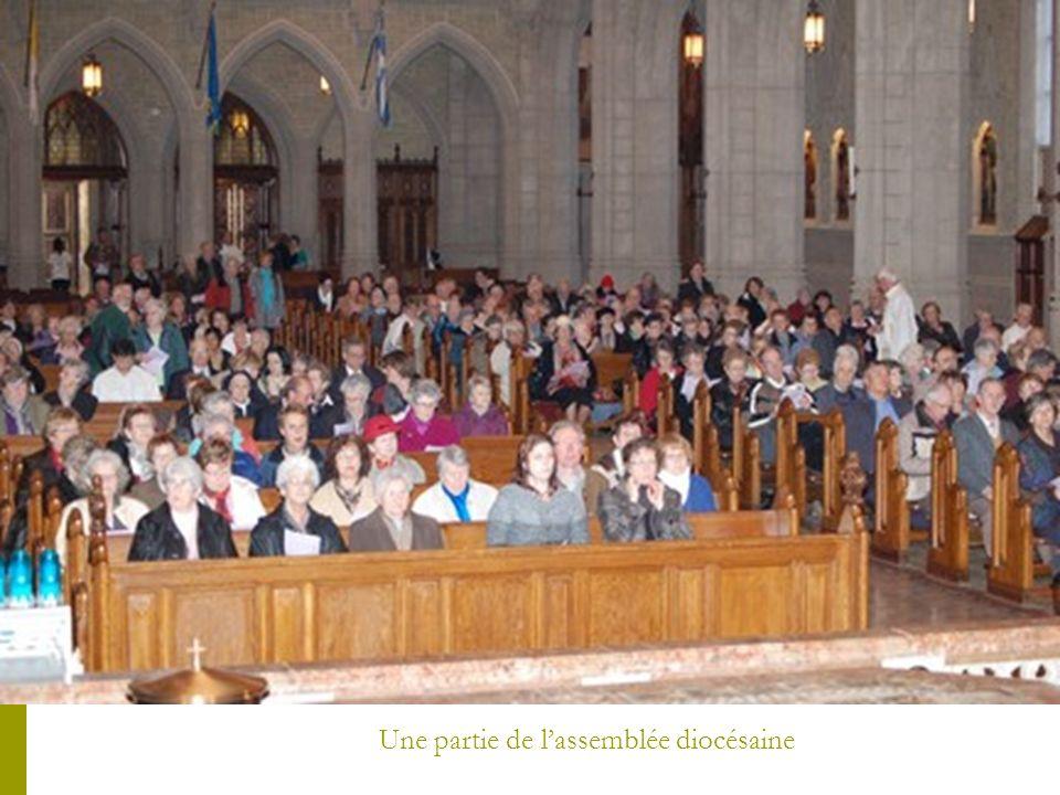 Une partie de l'assemblée diocésaine